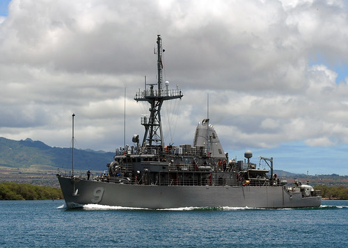 USS Avenger and Defender Depart Sasebo after MCM Swaps