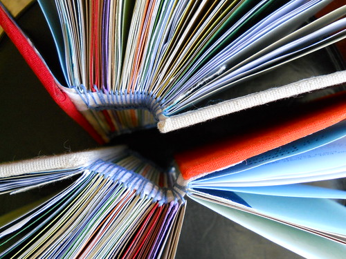 zine set book letterpress bound volume booklyn kerbloom