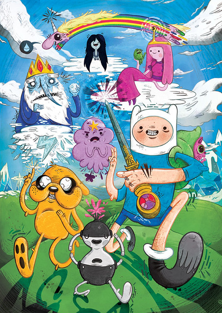 Adventure Time! - Fan-Art #1