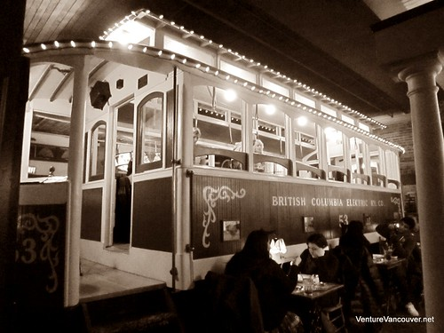 Old Spaghetti Factory Streetcar