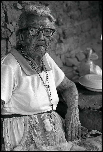 Tranquilina Rojas, 100 years old