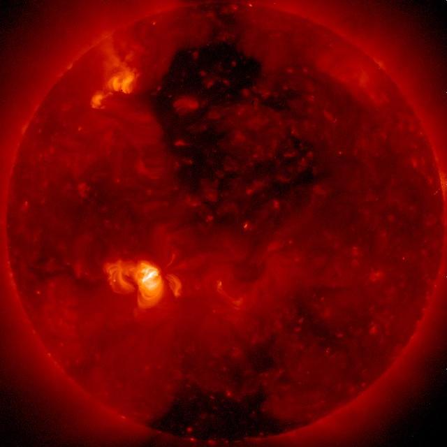 A Hole in the Sun (NASA, Hinode, 02/01/11)