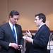 Rick Santorum speaks to bloggers at Bloggers Lounge
