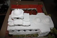 carving(0.0), fondant(0.0), sugar paste(0.0), icing(0.0), torte(0.0), wedding cake(0.0), cake(1.0), buttercream(1.0), white(1.0), baked goods(1.0), food(1.0), cake decorating(1.0), birthday cake(1.0), cuisine(1.0),
