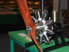 Clerget  9 cylinder rotary engine. . .
