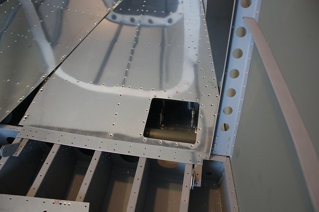 Antenna/Step Access Panel