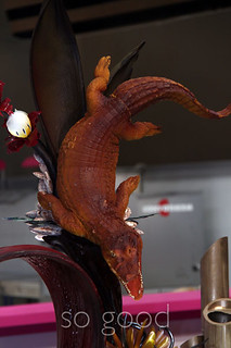 Belgium chocolate showpiece