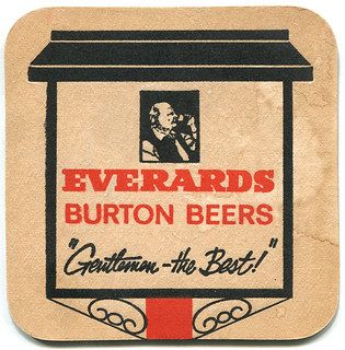 Leicester - Everards Beer Mat