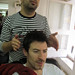Shave and a Haircut by eberlen