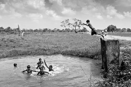 boys swimming children kiran