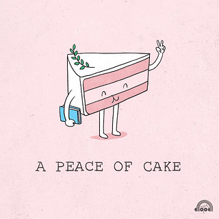 Day 89: A Peace of Cake