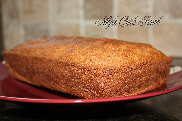 maple quick bread recipe