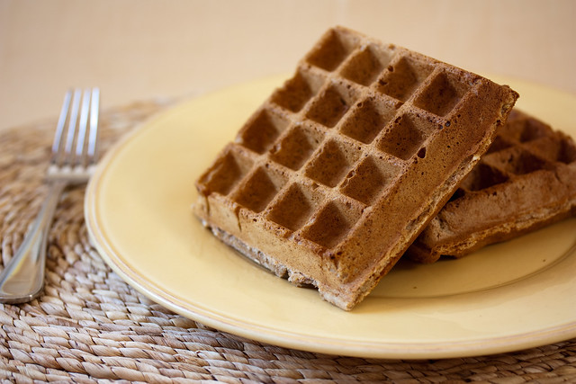 Vegan Multigrain Waffles