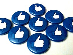 Facebook Like Pin