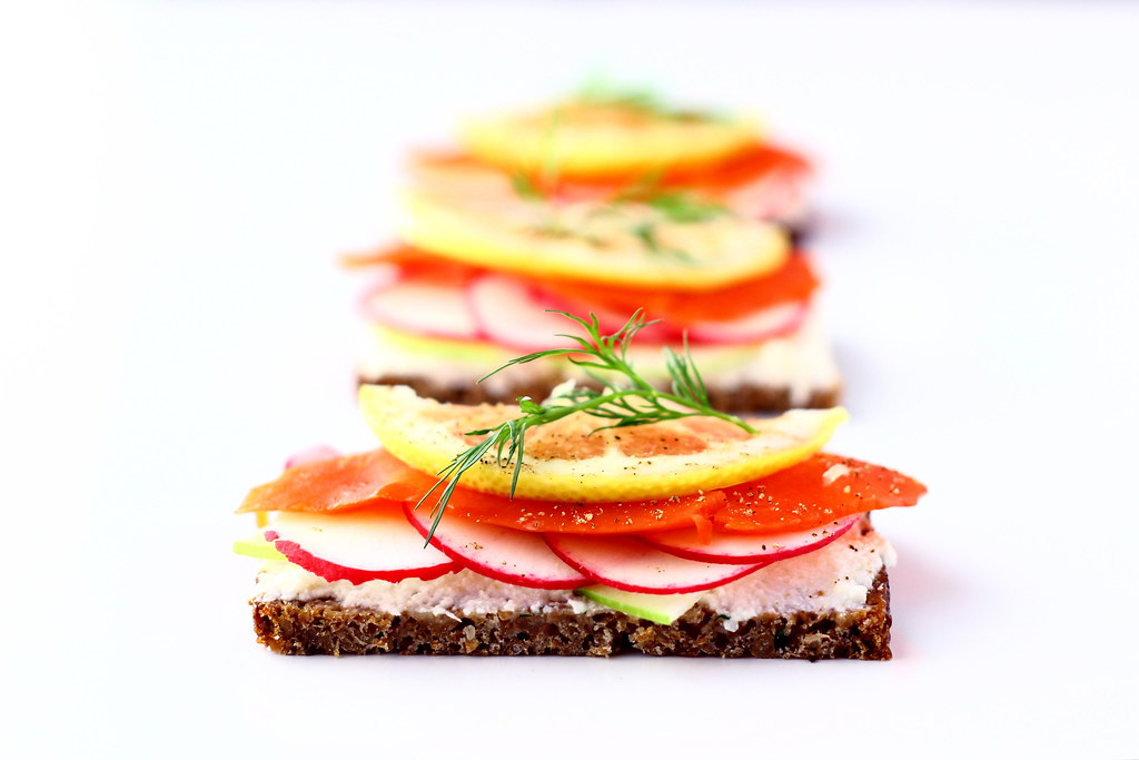 Smorrebrod, Danish Open-faced Sandwich