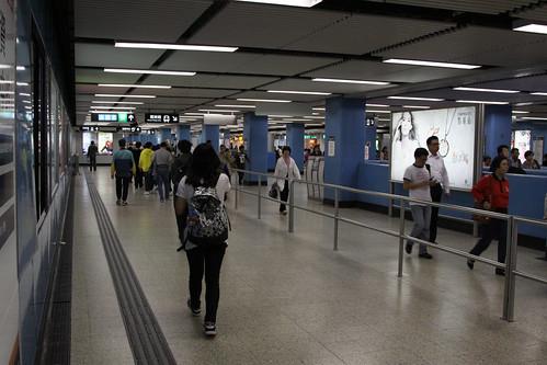 Underground passage at Kowloon Tong station