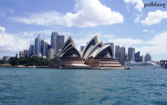 The City of Sydney and the Sydney Opera House