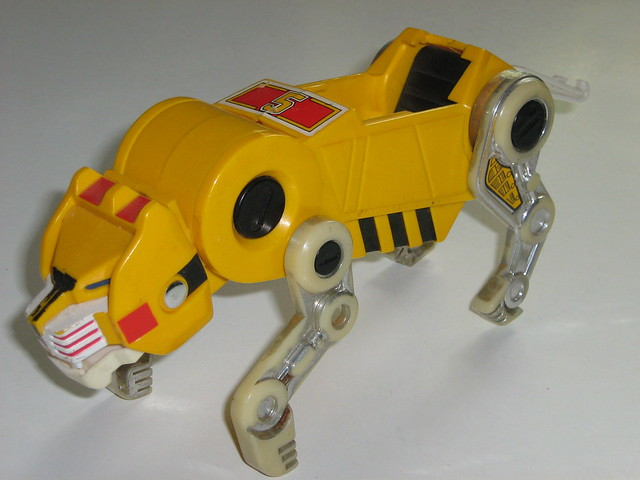 voltron yellow lionVoltron Yellow Lion