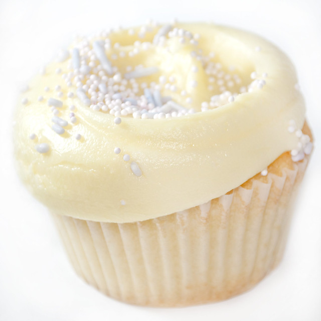 Double Vanilla Cupcake | Flickr - Photo Sharing!
