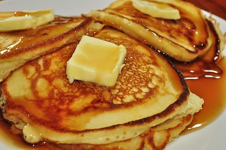 Mmm... sometimes it just has to be pancakes