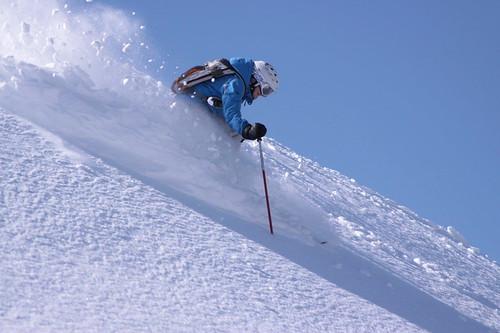 Moonlight MaryBall skis North Summit