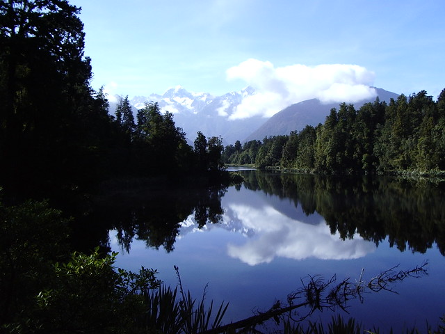 Lake Matheson, near Fox Glacier, South Island, New Zealand