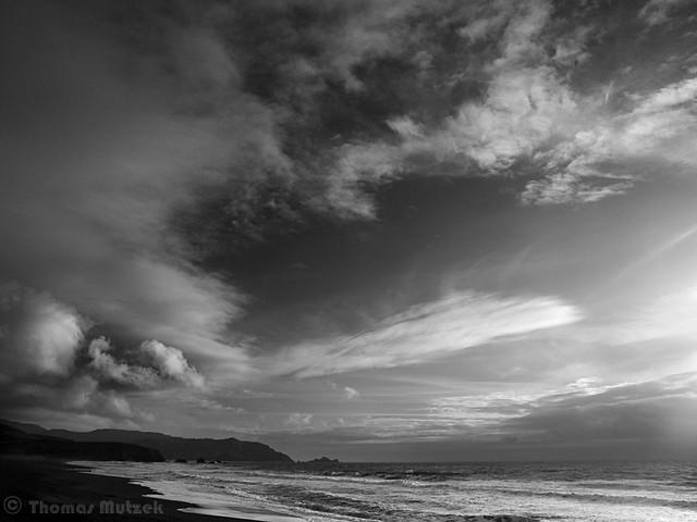 Pacifica Beach, San Mateo, California, March 2011