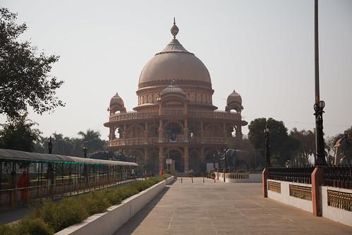 Chhatarpur Temple, Chhatarpur Mandir Complex, Mehrauli, Delhi, India - Thursday, 3rd February 2011