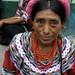 Mujer en la fiesta del pueblo; Joyabaj, El Quiché, Guatemala