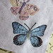 Butterfly & Moth embroidery
