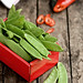 Sugar Snap Peas & Red Pepper by Kemi H Photography