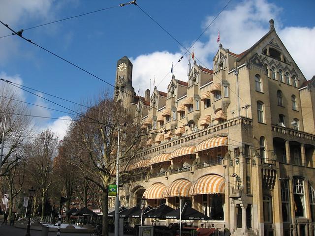 Amsterdam American Hotel Leidseplein Flickr Photo