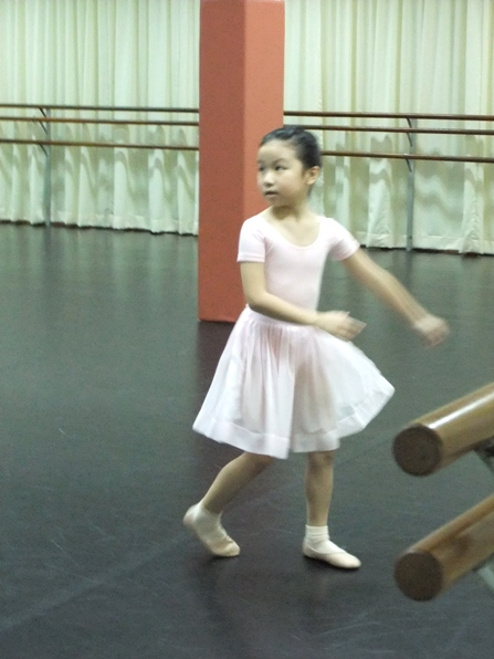 ballet exam today