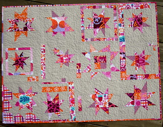 Wonky Star Quilt - Pieced Together Bee