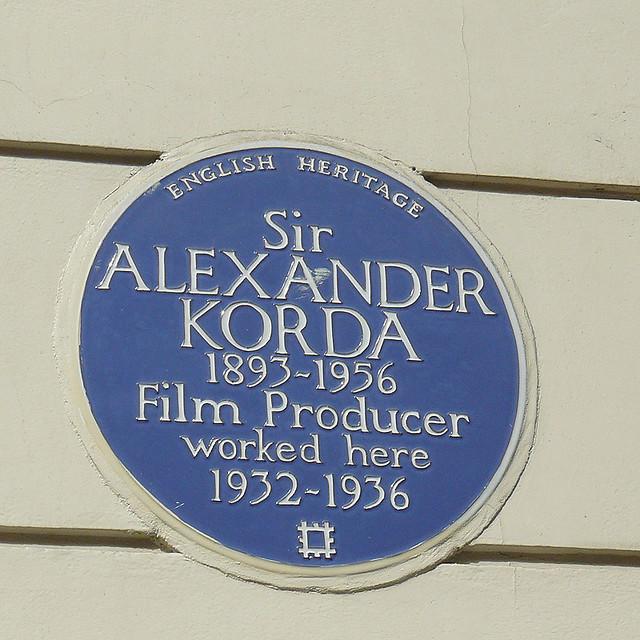 Header of Alexander Korda