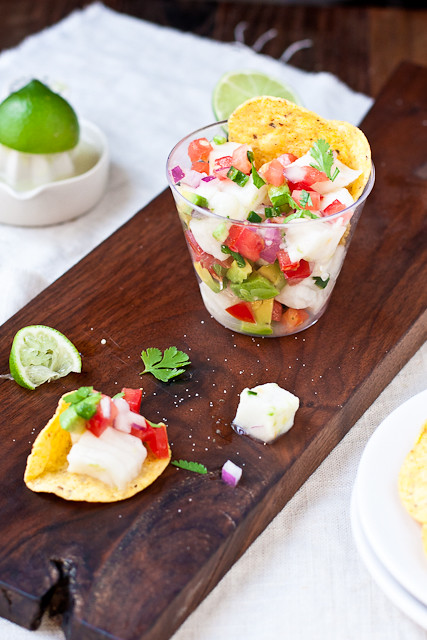 Simple Ceviche for Cinco de Mayo