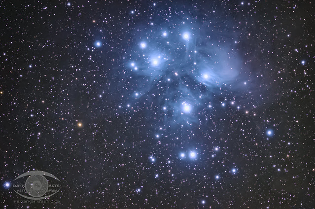 M45 - The Pleiades Cluster