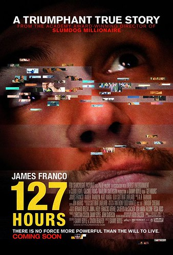 British Movie Poster 127 James Franco Casting Stand in John Bryant Davila Amputee in Film