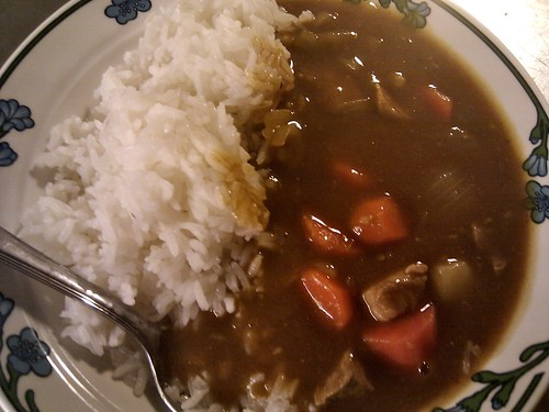 Made some カレー