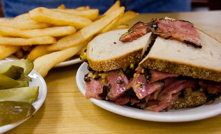 THE pastrami at Katz's