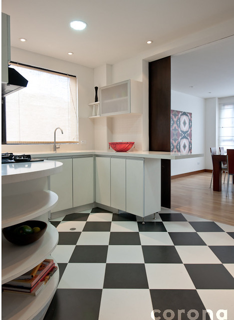 Cocina en blanco y negro 5 flickr photo sharing - Cocinas en blanco y negro ...