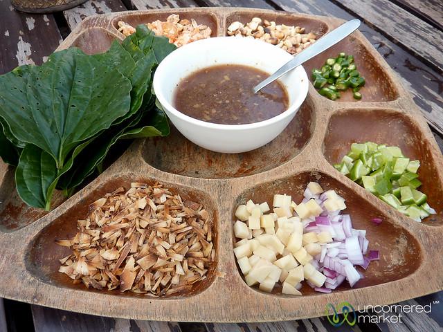 Mieng Kham: Thai Wraps on Koh Samui, Thailand