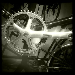 Drilled Chainring