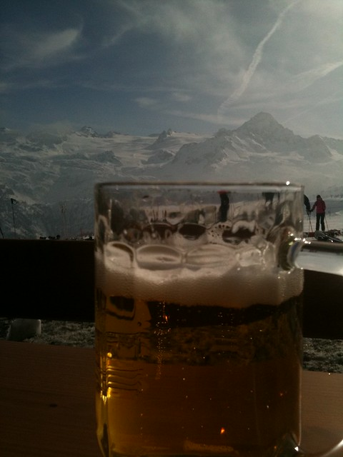 Beer with a view at lathuile