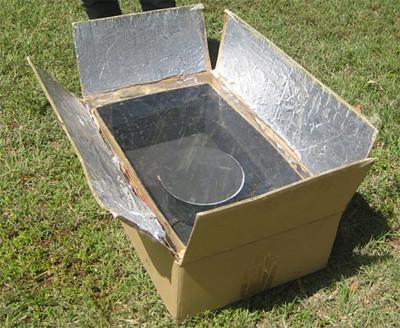 Novedades de energ as renovables como construir un horno for Como hacer una cocina de carton