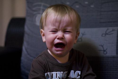 crying baby leo