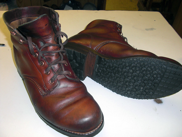 Original 1000 Mile Boot Commando Resole 1