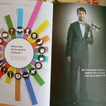 David Mitchell - Alternative Election Night booklet