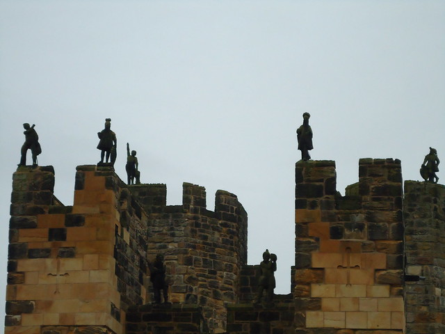 Header of Alnwick Castle
