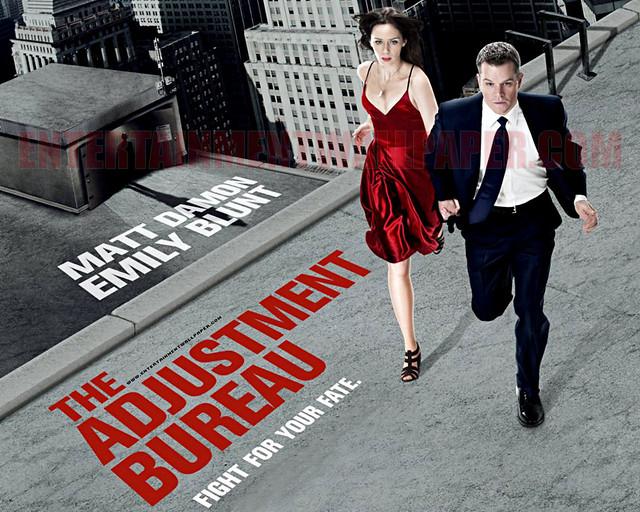 The adjustment bureau movie wallpaper flickr photo for Bureau 13 movie